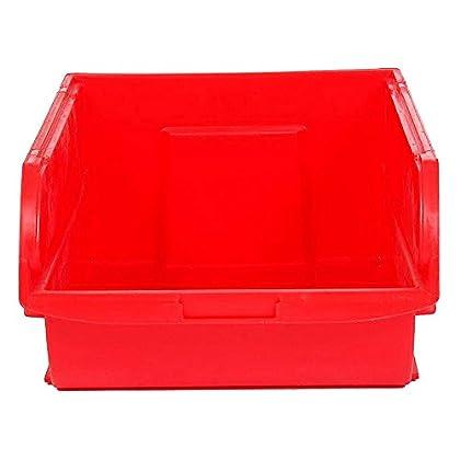Stanley Caja organizadora Abierta, Espacio para Guardar Cosas de 4 litros, roja, 14,6 x 23,8 x 12,7 cm 056300-004, Rojo