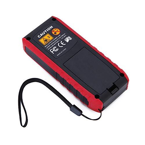 Yeahlvy Misuratore Laser LCD Digitale a Distanza con misuratore di Distanza 40m