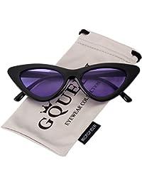 0daeff8b53f149 GQUEEN présente les lunettes Vintage au style des yeux de chat, les lunettes  offrent une