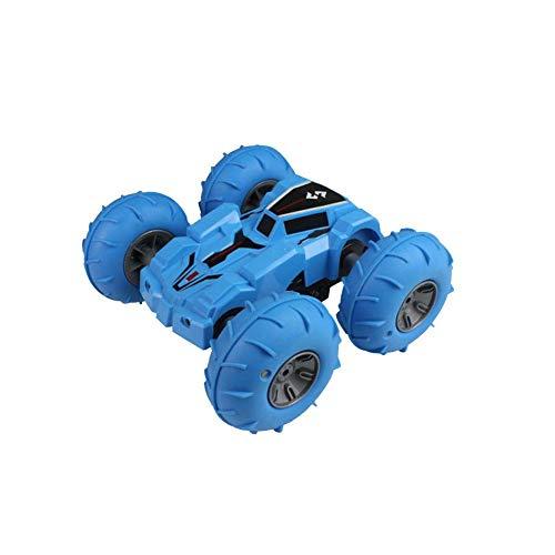 RC Auto Remote Controled Kids 360 Gradi Gira 1:24 2.4 GHZ Bifacciale da Corsa Con Pneumatici Leggeri E Pneumatici, Giocattolo Auto Da Corsa Ricaricabile Robusto Giocattolo Auto