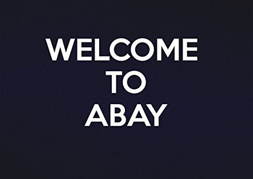Schilder 2 alle Welcome to abay-metal Wand sign-size ca. 400 mm x 300 mm, Aluminium, Multi, 40 x 30 x 1 cm