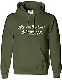 Harry Potter Mens Kids Hoodie Alan Rickman Top Sweat Hoodie