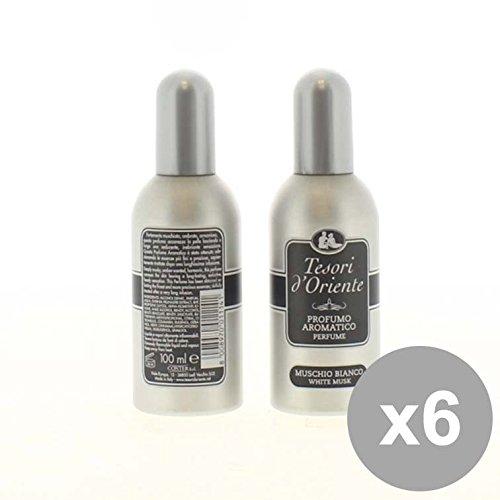 set-6-tesori-doriente-eau-de-toilette-100-muschio-bianco-profumi-per-il-corpo