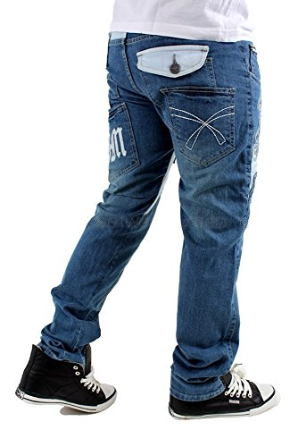 Brooklyn Mint Los Angeles LA Jeans Blue Stone Wash