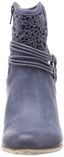 s.Oliver Damen 25301 Stiefeletten blau (denim comb)