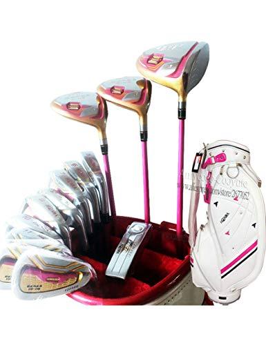HDPP Golfschläger Neue Damen Golf Clubs Clubs Komplettsets Golf Set Drive Fairway Holz Eisen Putter