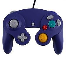 Violett Gamecube Controller, Joypad Gamepad für Wii Spiel