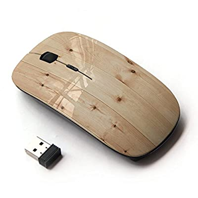 KOOLmouse [ Optical 2.4G Wireless Computer Mouse ] [ Light Wood Flooring Pattern ] produced by KOOLmouse - quick delivery from UK.