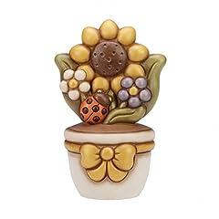 Idea Regalo - THUN Vasetto Girasole Ceramica 25 cm h