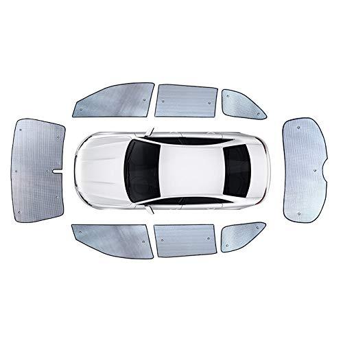 e-Auto-Markise Auto Vorne Und Hinten Fenster Aluminium  Folien-Auto-Windschutzscheibe Sonnenschatten  Für Das Auto ()