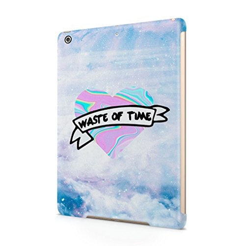 waste-of-time-holographic-tie-dye-heart-stars-space-apple-ipad-air-1-snapon-hard-plastic-tablet-prot