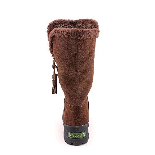 Lauren Ralph Lauren Tadina Boot Dark Brown/Dark Brown