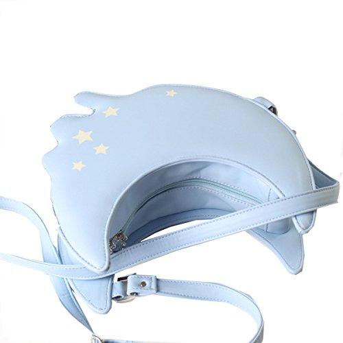 Sacchetto Della Cassa Yy.f Sacchetto Del Messaggero Gnocchi Personalizzati Animazione Ragazza Stelle Borse Top Delle Borse Delle Signore Blue