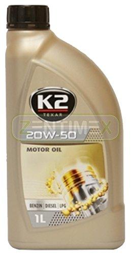 Motoröl Öl voll-synthetisch 20W-50 Nanotechnologie Benzin-Motoren Benziner LPG-Motoren Diesel-Motoren 1l ACEA A3-02/B3-98#2, API SL/CF, Mercedes-Benz MB 229.1, Volkswagen VW 501.01/505.00