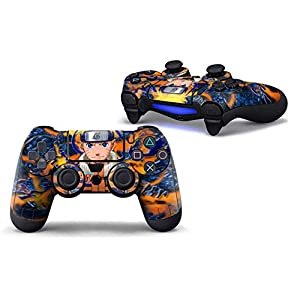 supertop PS4 Slim Vinyl Stickers Controller Decals Game Handle Skins All-Inclusive Sticker for PS4/ PS4 Slim/ PS4 Pro