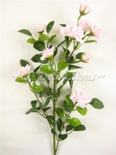 Fiori Artificiali seta 6x 9capi Rosa Spray (58cm) da GT Decorazioni Baby Pink