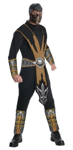 Rubie's Official Mortal Kombat Scorpion, Adult Costume - Large by Rubie´s