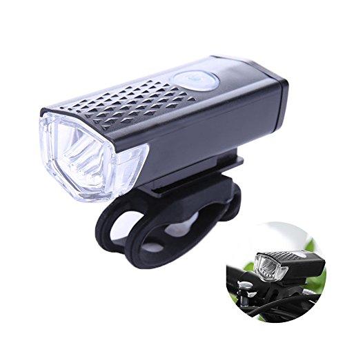 Hrph Fahrrad-Scheinwerfer wasserdichtes USB-nachladbares Fahrrad-Lichter-Kopf-vorderes LED-Blitz-Licht-Zyklus-Sicherheits-Lampen-Fahrrad-Zusatz (Nacht-zyklus Lampe)
