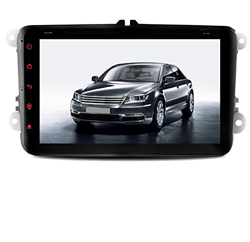Yinuo 20,3cm Android 5.1.1in Dash Navigation für Skoda/VW/Jetta/Seat Serie Quad Core 1024* 6002DIN DVD GPS Navigation Unterstützung am/fm radio Touchscreen AV Bluetooth iPod (Geschenk-karte E-mail-lieferung)
