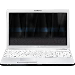"Toshiba Satellite C660-1KD Ordinateur Portable 15,6"" Intel Pentium P6200 640 Go RAM 4096 Mo Windows 7 Carte graphique ATI Mobility Radeon HD 5470 Texture Blanc"