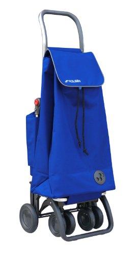 Rolser Einkaufsroller Logic Tour/PACK THERMO MF, PAC047, 39,5 x 32,5 x 106 cm, 47 Liter, 40 kg Tragkraft, blau