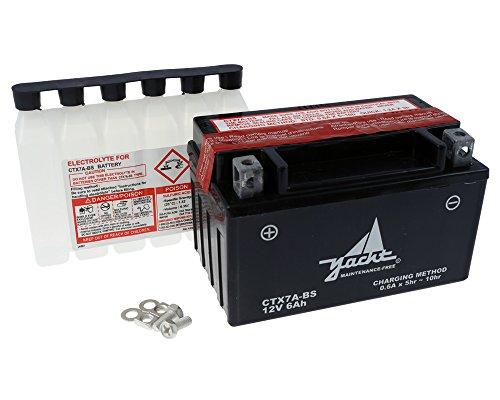 Batterie YTX7A-BS / CTX7A-BS 12 Volt [ inkl.7.50 EUR Batteriepfand ]
