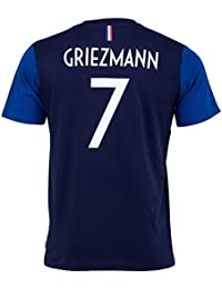 Equipe de FRANCE de football T-Shirt FFF - Antoine Griezmann - Collection Officielle Taille Enfant garçon