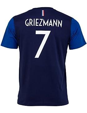 Equipe de France de Football Camiseta FFF–Antoine Griezmann–Colección Oficial, Talla DE Niño, Niños, Azul,...