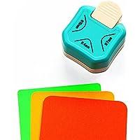 Perforadora de papel Cady (4mm, 7mm, 10mm) 3 en 1 para redondear esquinas