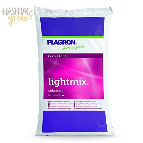 Plagron Light Mix 50L ohne Perlite Erde Pflanzerde Anzucht Pflanzenzucht