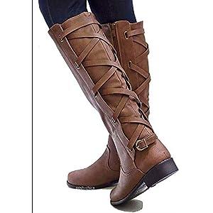 BNXXINGMU Winter Womes Schnee Stiefel Mode Reitstiefel Mit Knöchel In DerNähe DerKniehohenStiefel KnieVerdickung Zipper Schuhe