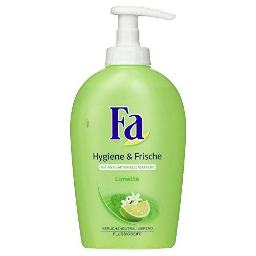Fa Flüssigseife Hygiene und Frische Limette, 250 ml (Fisch Gereinigte)