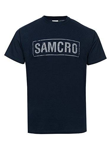 Sons of Anarchy Samcro T-Shirt Navy S