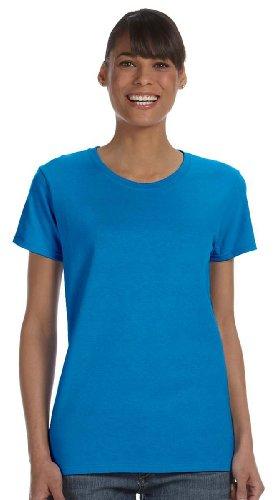 Gildan - Heavy Cotton - Maglietta Manica Corta - Uomo US X-Large,Sapphire