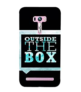 EPICCASE Think out of the box Mobile Back Case Cover For Asus Zenfone Selfie (Designer Case)