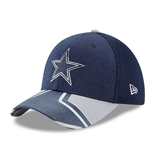 New Era 39Thirty Cap - NFL 2017 DRAFT Green Bay Packers Blau / Dallas-Cowboys