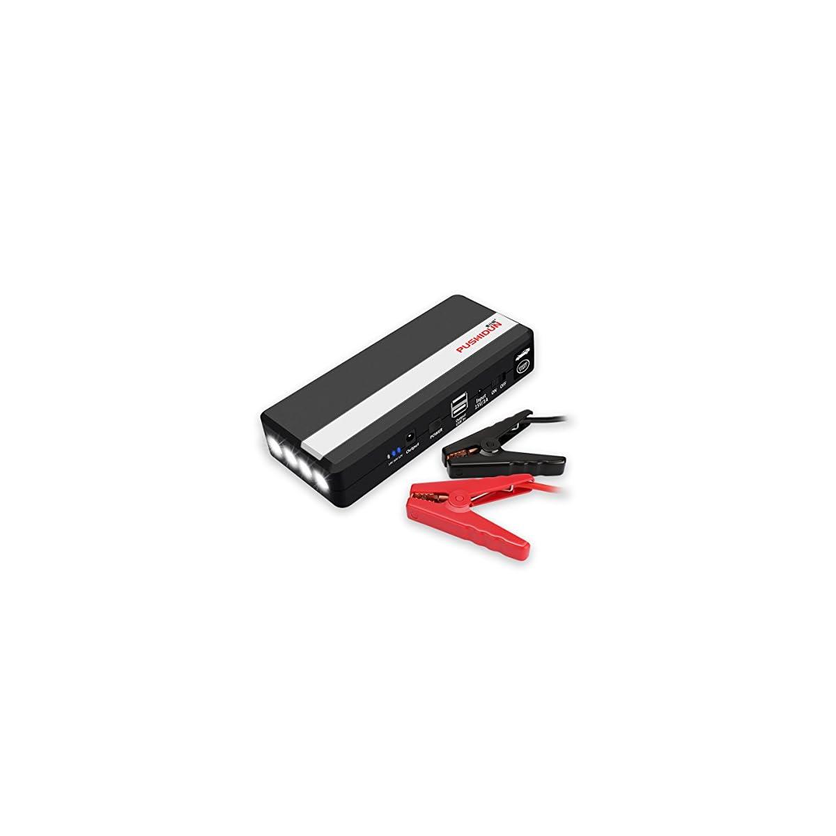 41 byfnGZDL. SS1200  - Arrancador de Coche 14000mAh 800A Jump Starter de con 2 USB y Cable Inteligente