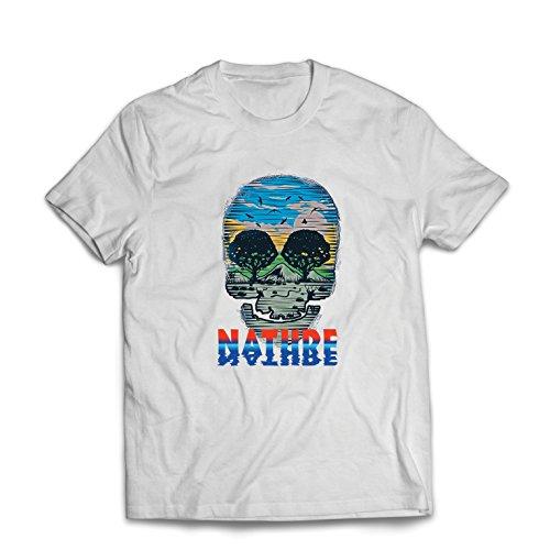 Männer T-Shirt der Natur-Schädel - retten Sie den -
