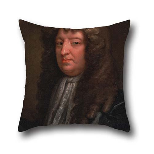 Oil Painting Gilbert Soest - Samuel Butler Throw Cushion Covers 16 X 16 Inches / 40 By 40 Cm Best Choice For Couples,office,divan,boy Friend,bedding,chair With Twice Sides