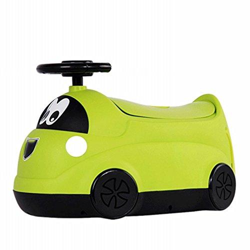 HM Kleine Auto-Modelle Kinder-Wc-Multifunktions-Baby-Wc Männlichen und Weiblichen Baby Schublade Töpfchen,Grün