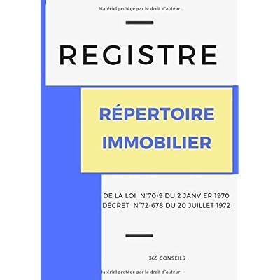 Registre Répertoire Immobilier