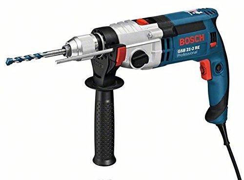 Preisvergleich Produktbild Bosch GSB 21-2 RE Schlagbohrmaschine + Zubehör