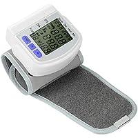 Zywtrade Digital LCD muñeca de presión Arterial Monitor de medición del Dispositivo medidor de Latido del corazón.