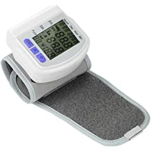 Zywtrade Digital LCD muñeca de presión Arterial Monitor de medición del Dispositivo medidor de Latido del