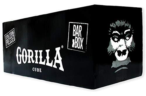 Gorilla Cube ESP Shisha Kohle 20kg Bar Box - 20 x 1kg - 26mm Cubes -