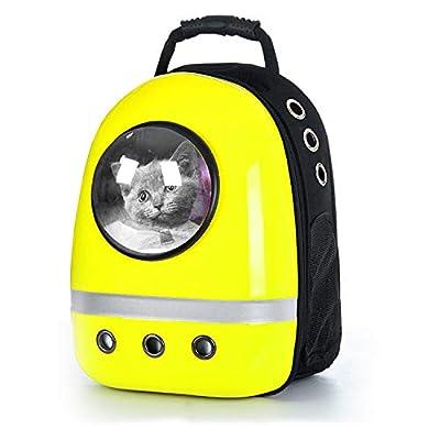 Bolsa de Viaje for Mascotas/Mochila portátil for Gatos/Perros Bolsa for Mascotas/Bolsa for Mascotas Transpirable/Caja de Aire for Mascotas Amarilla/Bolsa for Mascotas Azul jkgk Bolsas escola por Bolsas escolares