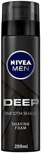 NIVEA, MEN, Shaving Foam, Deep, 200ml