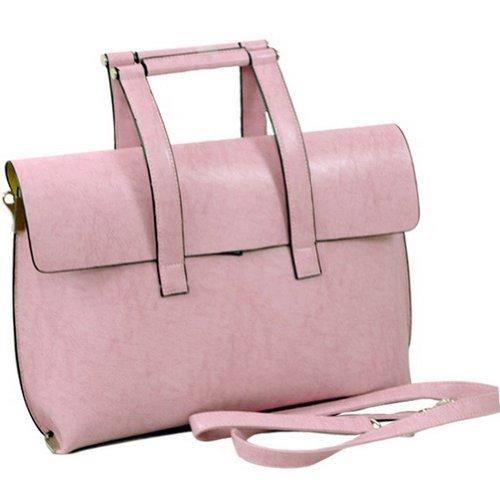dasein-womens-designer-briefcase-handbag-crossbody-bag-pink-by-dasein-briefcases