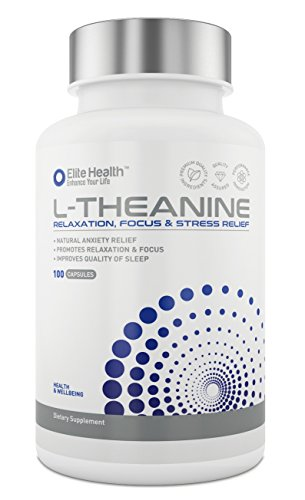 Premium-Grade-L-Theanine-250mg-Super-Strength-Capsules-by-Elite-Health-UK-Manufactured-Lab-Tested-Gluten-Free-Easy-Swallow-L-Theanine-Tablets