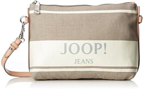 Joop! - Canvas Adele Shoulderbag Mhz, Borse a spalla Donna Bianco (Offwhite)